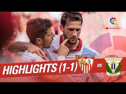 Resumen de Sevilla FC vs CD Leganés (1-1)