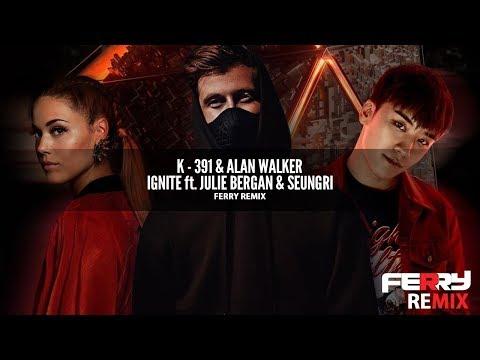 K - 391 & Alan Walker ft. Julie Bergan & Seungri - Ignite (Ferry Remix)