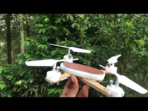 MAX- solar powered intelligent DIY drone