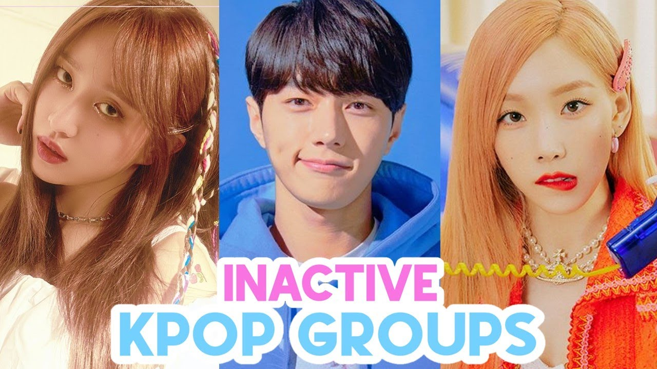 inactive kpop groups that need to make a comeback