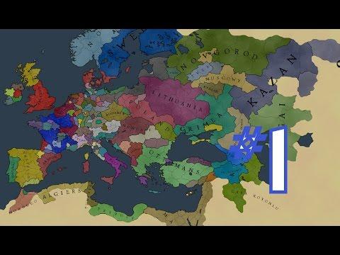 Франция и очень большая компания! EUROPA UNIVERSALIS (1)