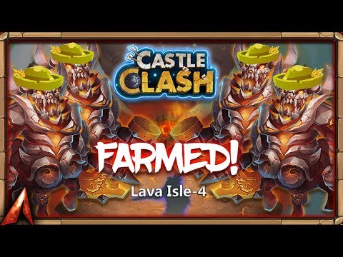 Farming Lava 4 Setup! Collecting Wallawalla Soulstones! Castle Clash