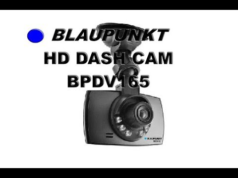 blaupunkt dash cam bpdv165 youtube. Black Bedroom Furniture Sets. Home Design Ideas