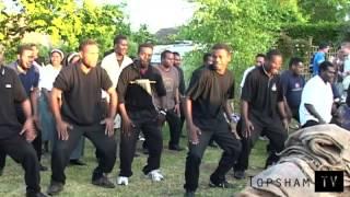 Melanesian Brotherhood BBQ in Topsham