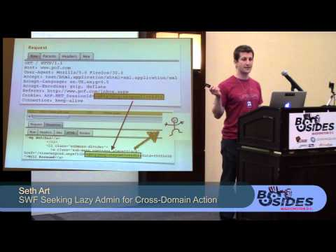 BSides DC 2014 - SWF Seeking Lazy Admin for Cross-Domain Action