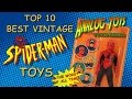 Top 10 Best Vintage Spider-Man Toys - Spiderman Action Figure Collection