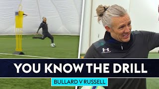 Bullard v England's striker coach in finishing challenge! | You Know The Drill