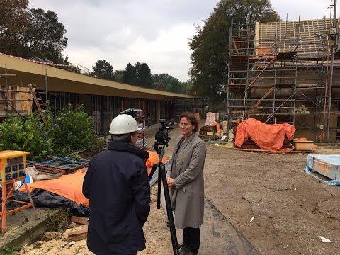 Werkbezoek Francine Houben | St. Gerlach Paviljoen