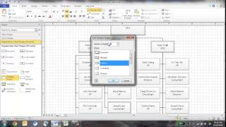 Create an Org Chart in Visio Using the Wizard