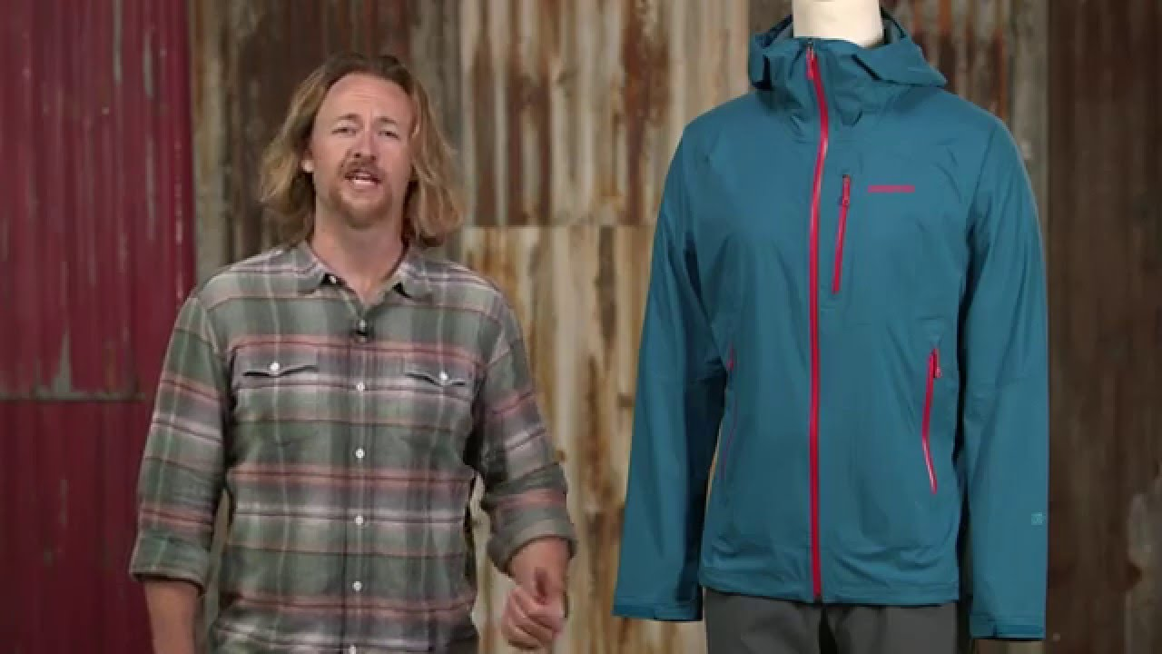on feet shots of low cost limited guantity Patagonia Stretch Rainshadow Jacket @FLY-ZONE.net