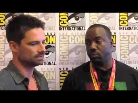 Malik Yoba and Warren Christie Comic Con 2012 'Alphas' Interview