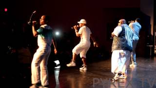 "Dru Hill performs ""Tell Me"" & ""Sleeping in my Bed"" in North Carolina"