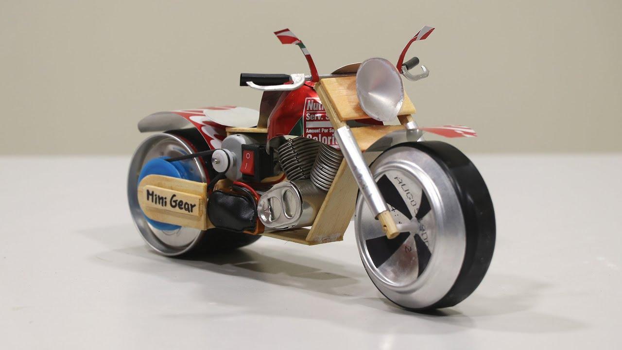 DIY Amazing Coca Cola Motorcycle