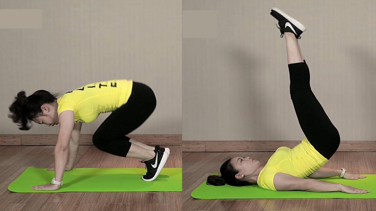 Bài tập giảm mỡ bụng dưới SIÊU NHANH tại nhà để có vòng eo thon|Emdep TV