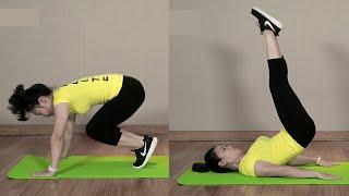 Bài tập giảm mỡ bụng dưới SIÊU NHANH tại nhà để có vòng eo thon|Emdep TV thumbnail