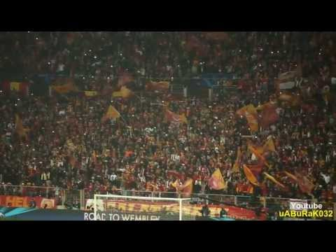 Galatasaray - Real Madrid Şampiyonlar Ligi Seramoni ultrAslan Tribün | Biz İnandık Sizde İnanın