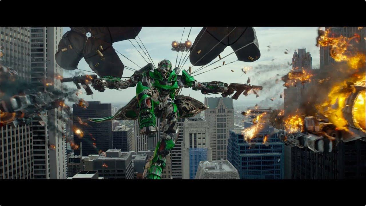 Transformers: A Era da Extinção - Comercial com primeiras imagens (sub)