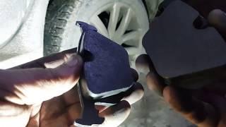 Замена задних тормозных колодок BMW