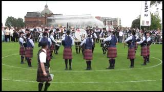 University of Bedfordshire Pipe Band, 2010 World Pipe Band Championships