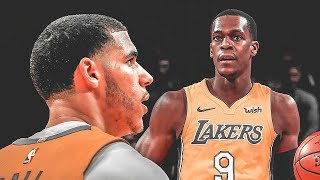 Rajon Rondo Takes Lonzo Ball's Starting Position On The Lakers!