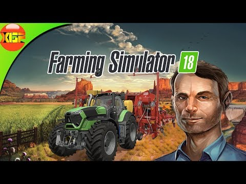 Farming Simulator 18 Gameplay! Planting, Harvesting Potatoes And Selling To Bakery