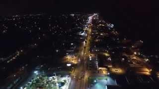 night flight down thomas drive in panama city beach fl