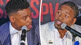 Errol Spence on Shawn Porter FIGHTING DIRTY!