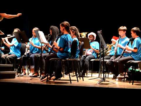 Greenville Middle Academy 6th Grade Band :: December 2017