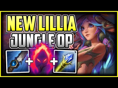 HOW TO PLAY LILLIA JUNGLE + OP BUILD/RUNES - Lillia Commentary Guide - League of Legends