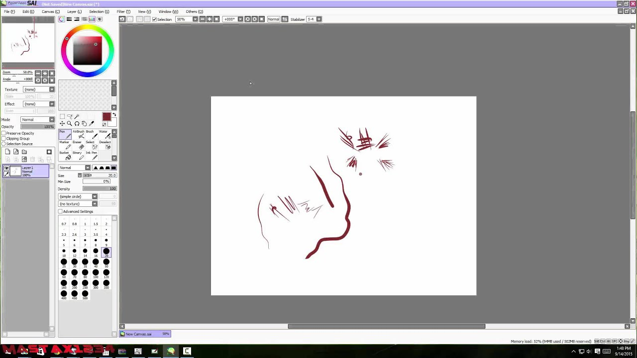 paint tool sai how to copy and paste