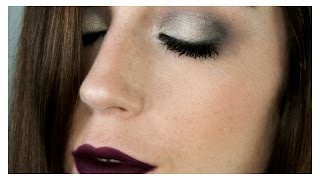 Maquillaje | Ahumado gris/plata + LABIALES OSCUROS FAVORITOS! thumbnail
