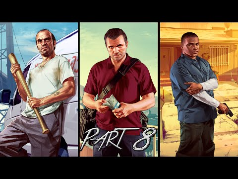 Grand Theft Auto 5 | Walkthrough | Paparazzo & Friend Request | Part 8 (HD)