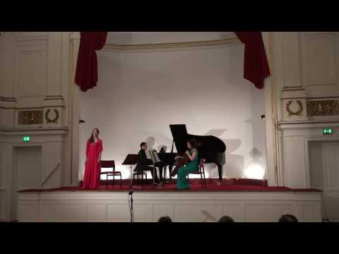 """Heitor Villa-Lobos Aria """"Bachianas Brasilieros"""" no. 5 (Copenhagen Festival Ensemble )"""