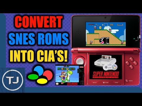 Convert SNES ROM's Into CIA's & Install Them! (OLD/NEW 3DS/2DS)