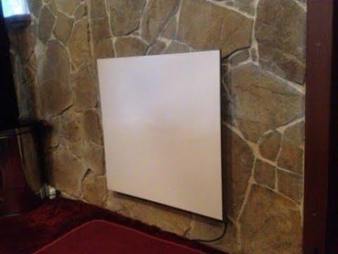 видео: Экономичное отопление своими руками. Испытание керамических панелей.