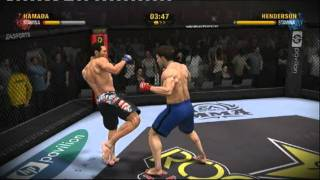 eA sports MMA gameplay 1
