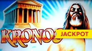 JACKPOT HANDPAY! Kronos Slot - $45 Max Bet - Progressive Betting!