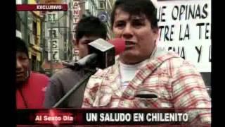 Desde Perú con amor: un saludo