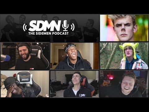 WILL KSI FIGHT LOGAN PAUL OR JAKE PAUL? (Sidemen Podcast)
