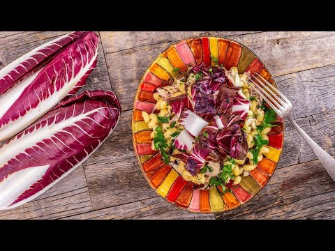 How To Make Artichoke Pasta With Chicken & Radicchio By Rachael