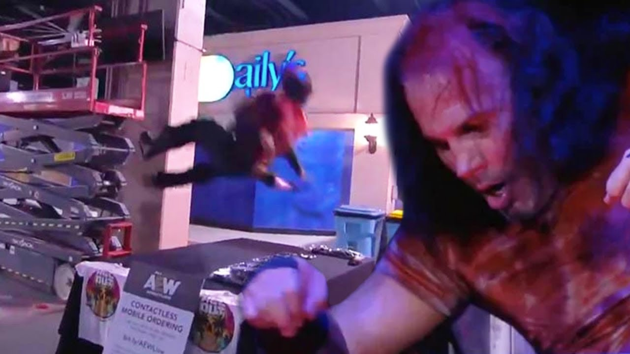 Matt Hardy Sent To Hospital During AEW All Out, Latest Update