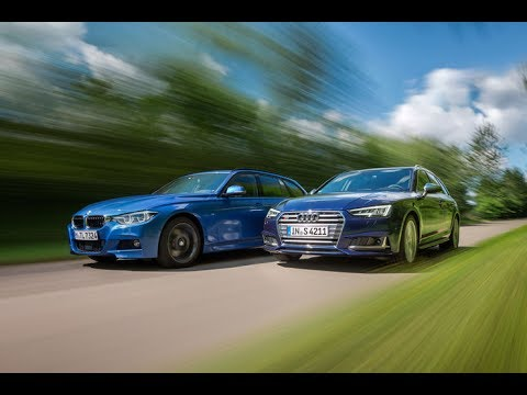 2017 Audi S4 Avant Vs 2016 Bmw 340i Touring M Sport