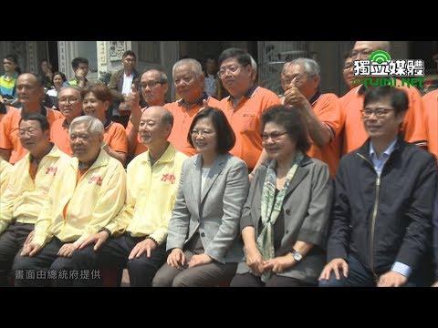 參拜高雄宮廟 蔡英文:讓台灣人做自己的主人是我堅持的價值