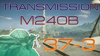 Battlefield 4 | PC | Gameplay w/M240B on Rogue Transmission | 37-3
