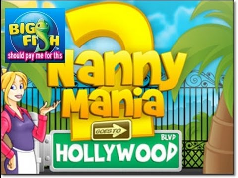 004 Nanny Mania 2 Game Play (Big Fish Games)