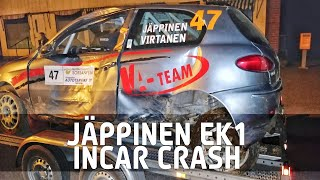 Jäppinen CRASH || SM Pohjanmaa Ralli 2020