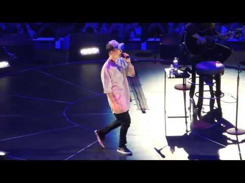 """Justin Bieber """"Sorry"""" Staples Center Nov.13, 2015"""