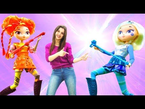 Сказочный патруль. Игры для девочек с куклами. ВОЛШЕБНИЦЫ ищут браслет Аленки