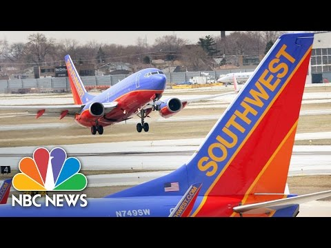 Terrifying Fistfight Erupts Between Passengers On Southwest Airlines Jet | NBC News