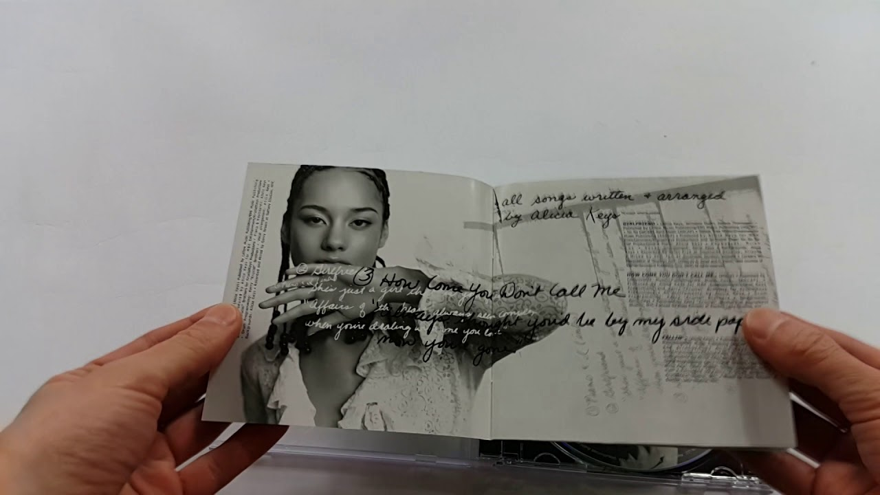 """Unboxing: ALICIA KEYS """"SONGS IN A MINOR"""""""